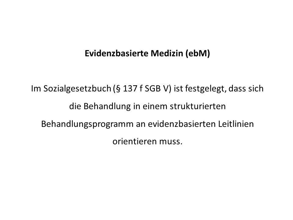Evidenzbasierte Medizin (ebM)
