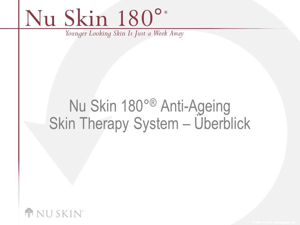 Nu Skin 180°® Anti-Ageing Skin Therapy System – Überblick