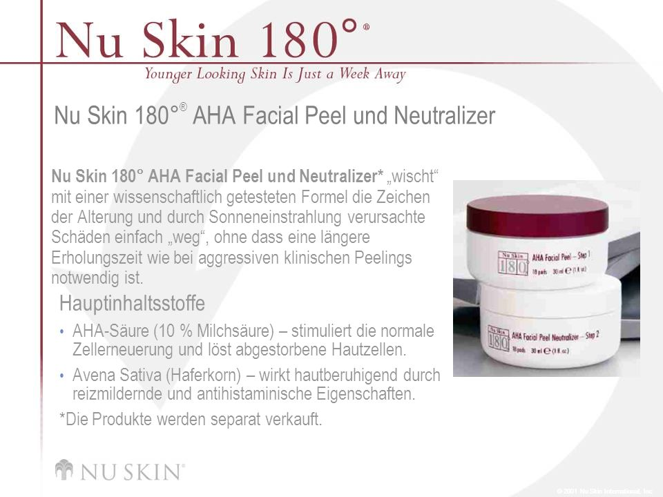 Nu Skin 180°® AHA Facial Peel und Neutralizer