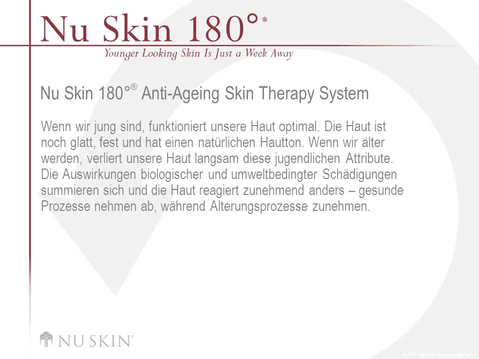 Nu Skin 180°® Anti-Ageing Skin Therapy System