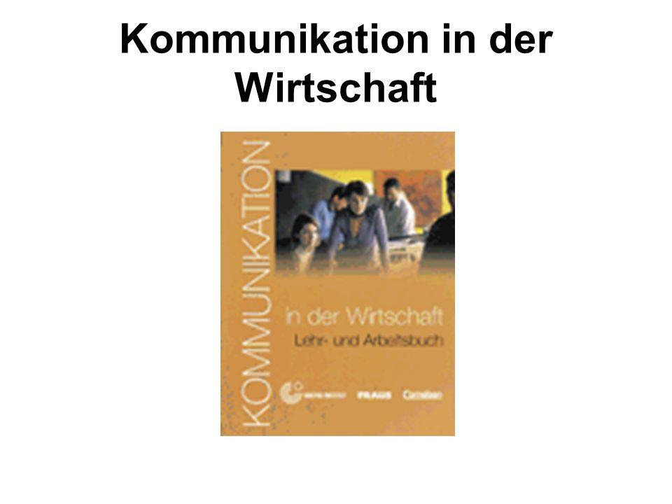 Kommunikation in der Wirtschaft
