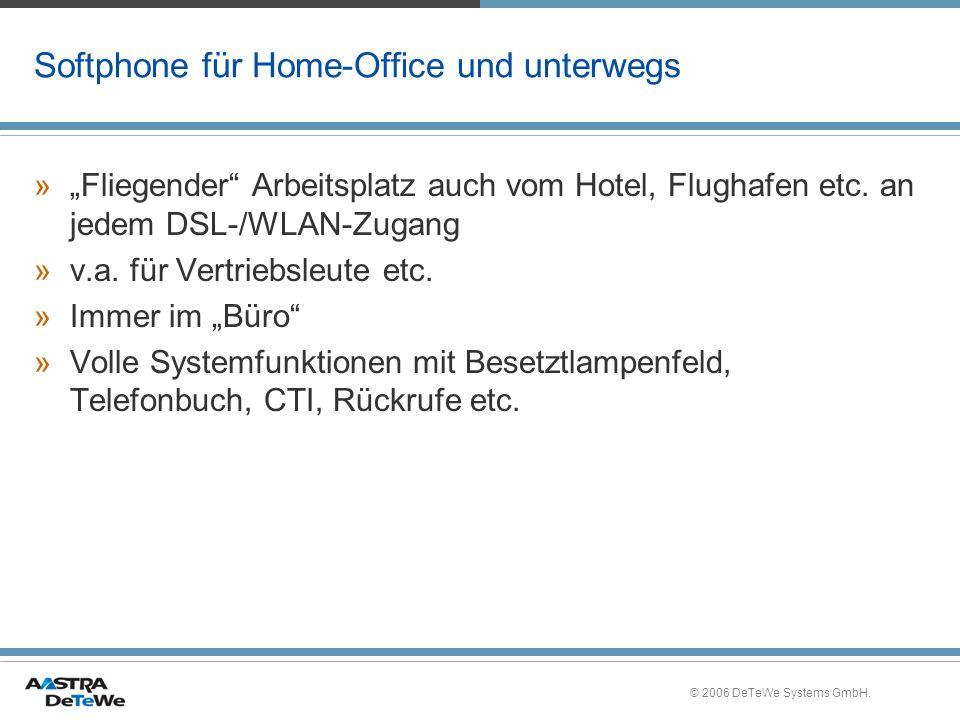 Softphone für Home-Office und unterwegs