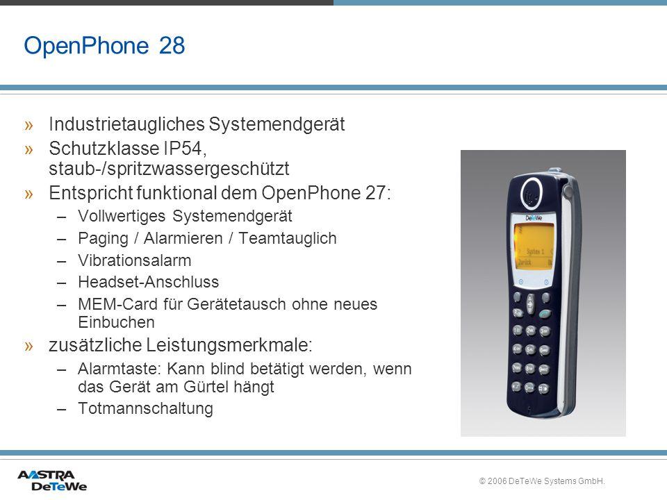 OpenPhone 28 Industrietaugliches Systemendgerät