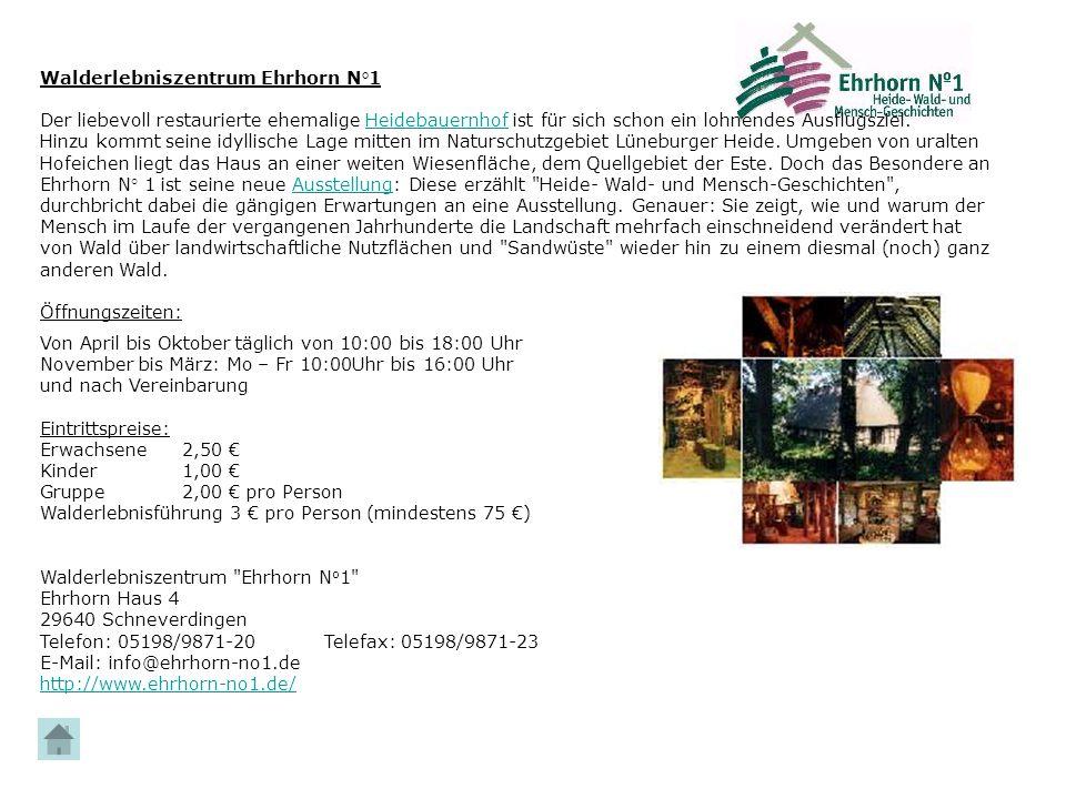 Walderlebniszentrum Ehrhorn N°1