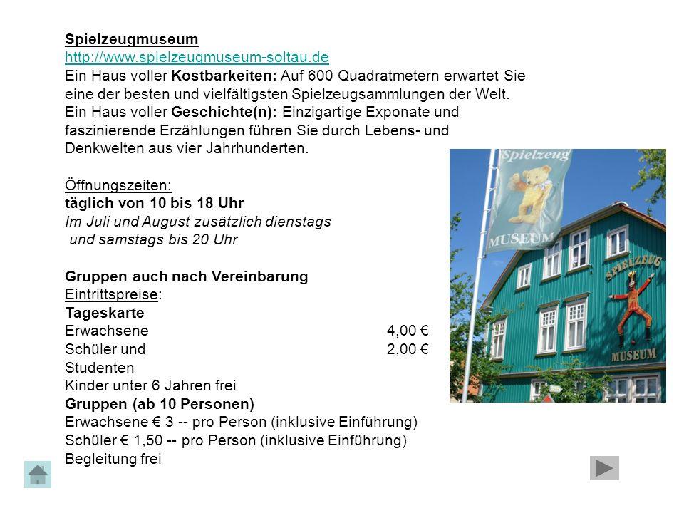 Spielzeugmuseum http://www.spielzeugmuseum-soltau.de. Ein Haus voller Kostbarkeiten: Auf 600 Quadratmetern erwartet Sie.