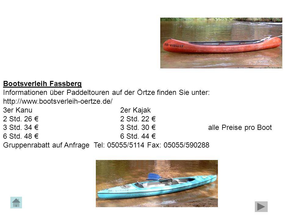 Bootsverleih Fassberg