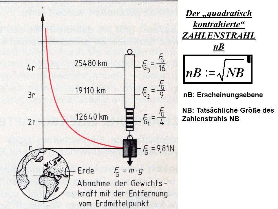 """Der """"quadratisch kontrahierte ZAHLENSTRAHL nB"""