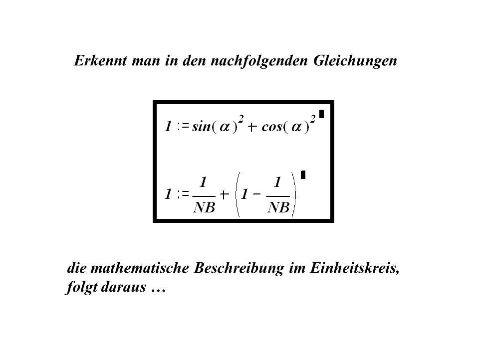 Erkennt man in den nachfolgenden Gleichungen