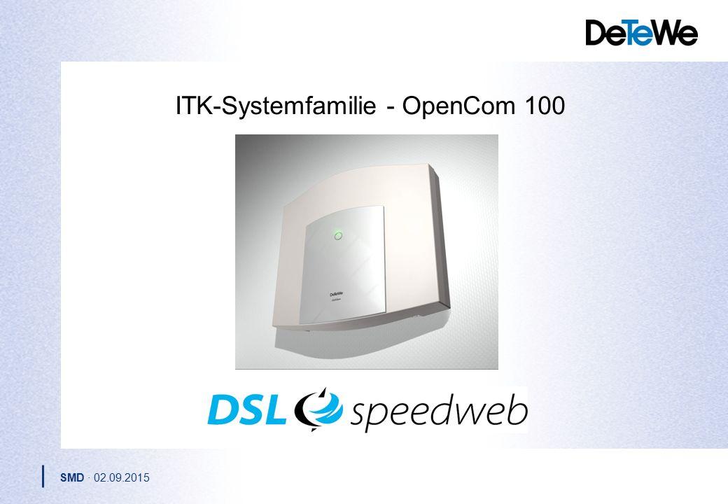 ITK-Systemfamilie - OpenCom 100