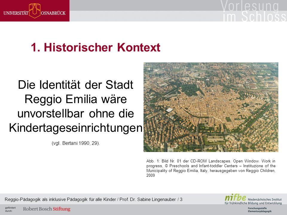 Die Identität der Stadt Reggio Emilia wäre unvorstellbar ohne die