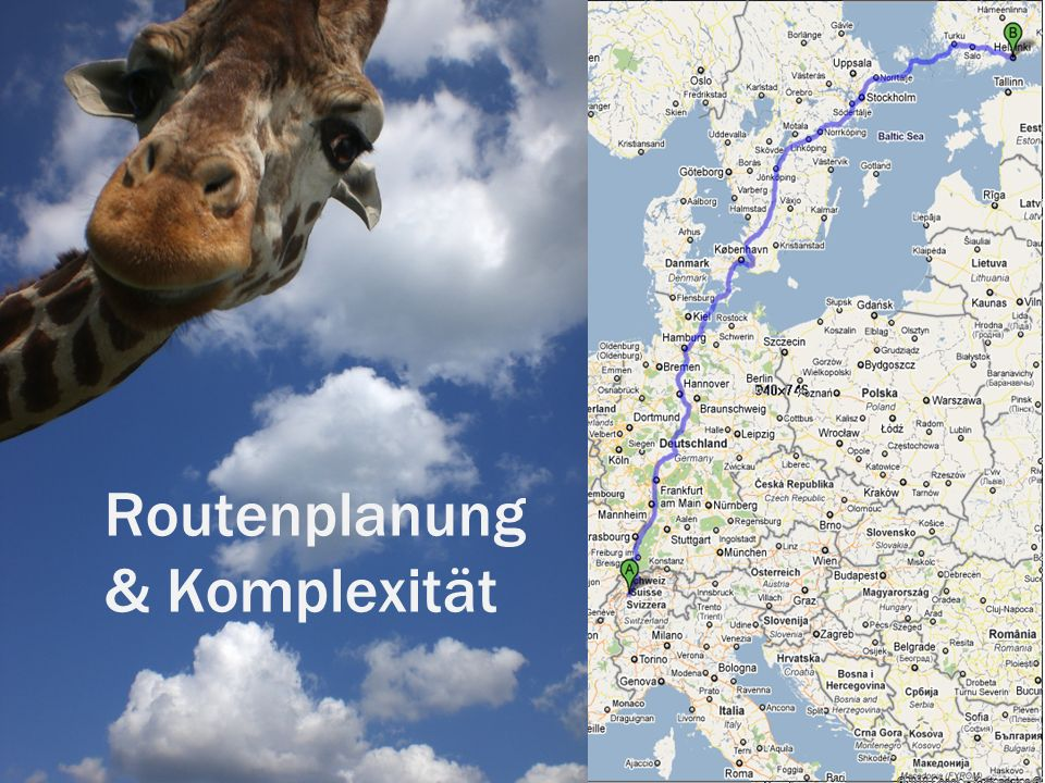 Routenplanung & Komplexität