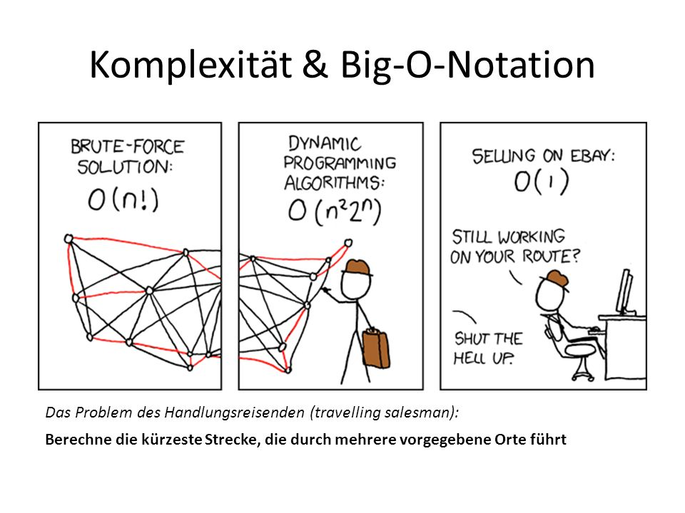 Komplexität & Big-O-Notation