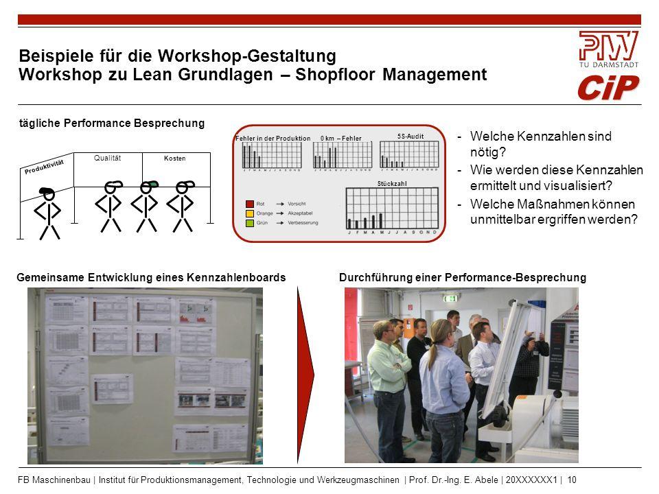 Das Engagement in der Prozesslernfabrik CiP – Die Vorteile der Partnerunternehmen