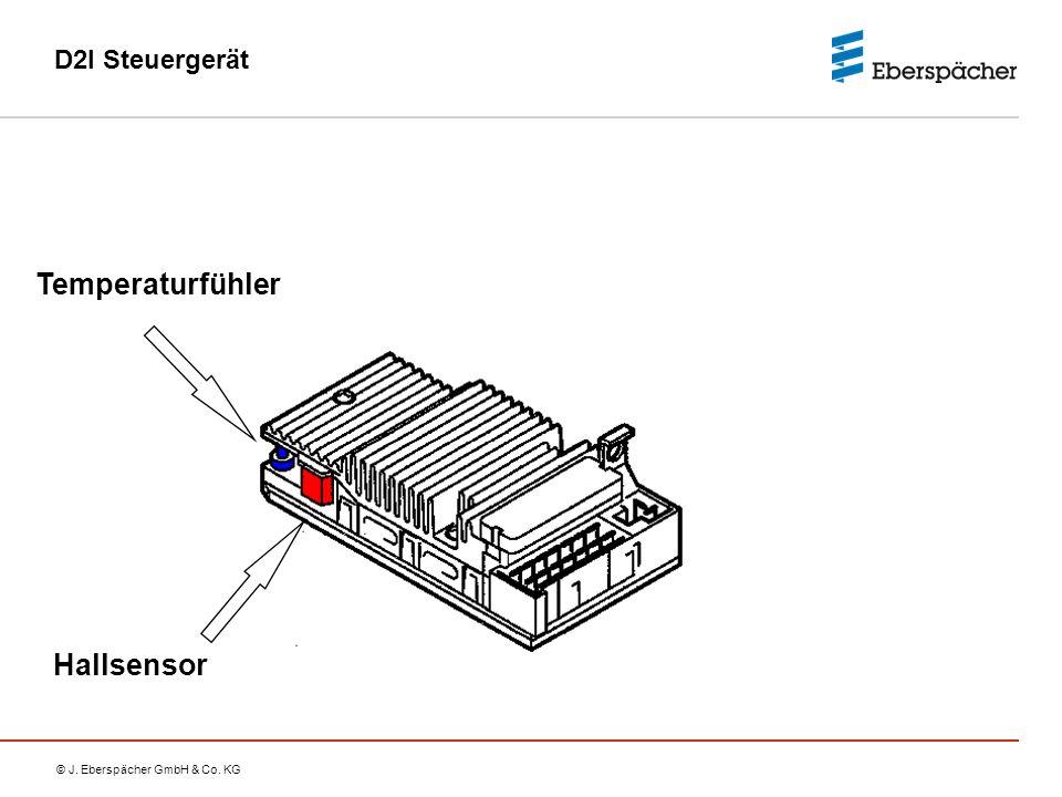 D2I Steuergerät Temperaturfühler Hallsensor