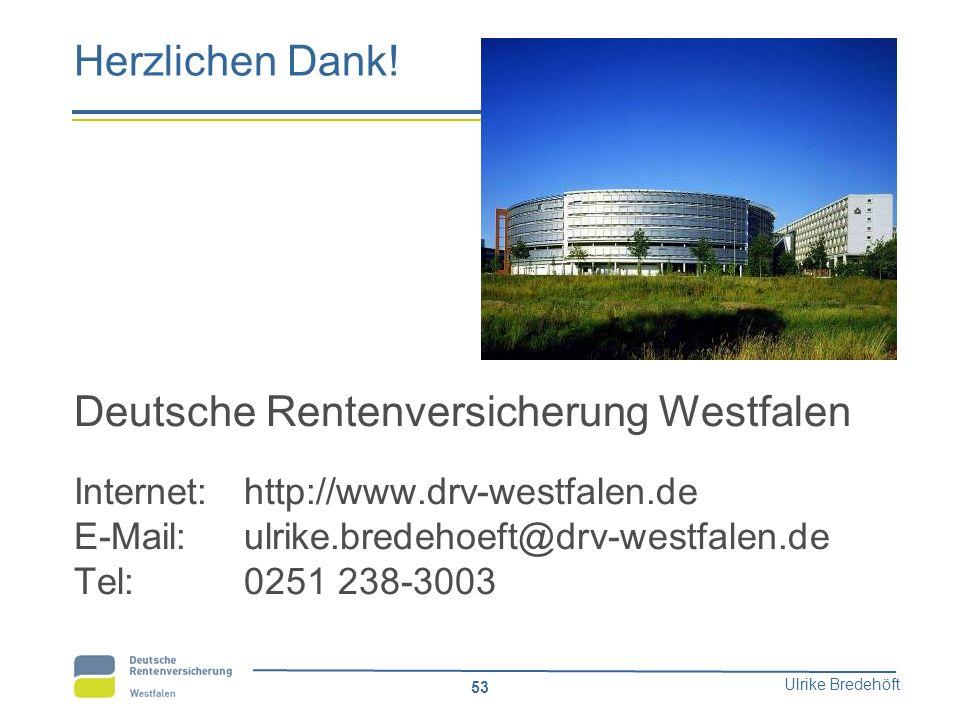 Deutsche Rentenversicherung Westfalen