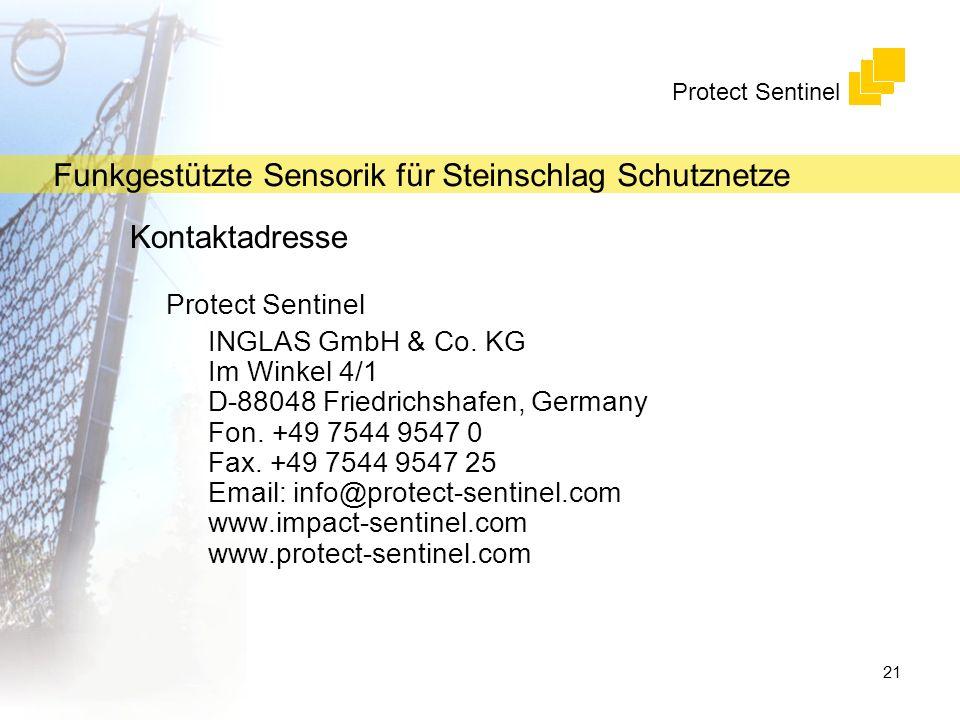 Kontaktadresse Protect Sentinel
