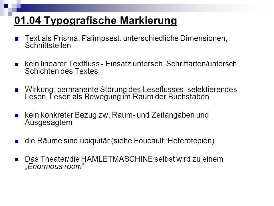 01.04 Typografische Markierung