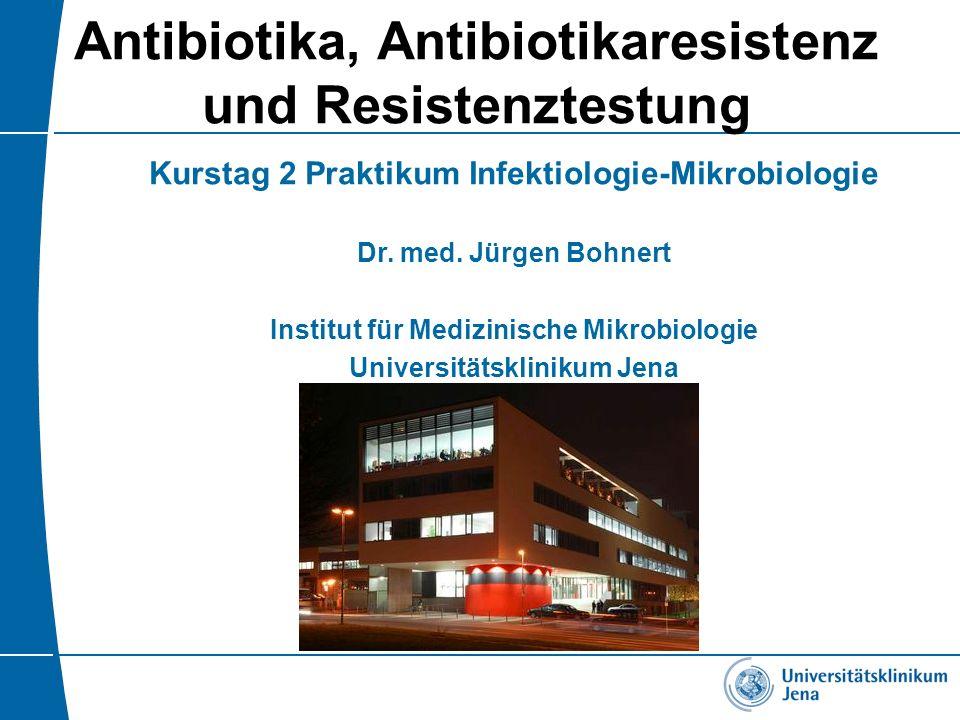 Antibiotika, Antibiotikaresistenz und Resistenztestung