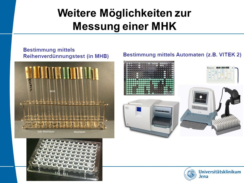 Weitere Möglichkeiten zur Messung einer MHK