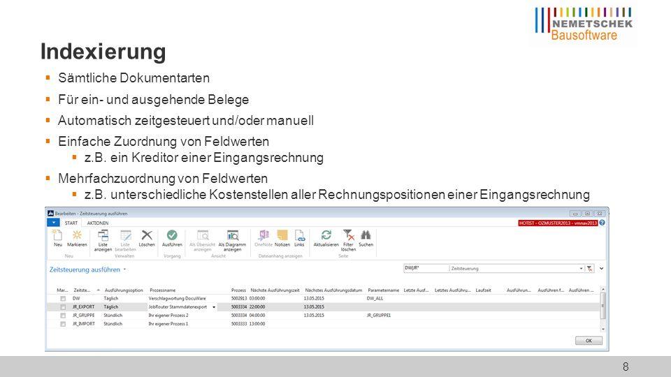 Workflow: Einleitung