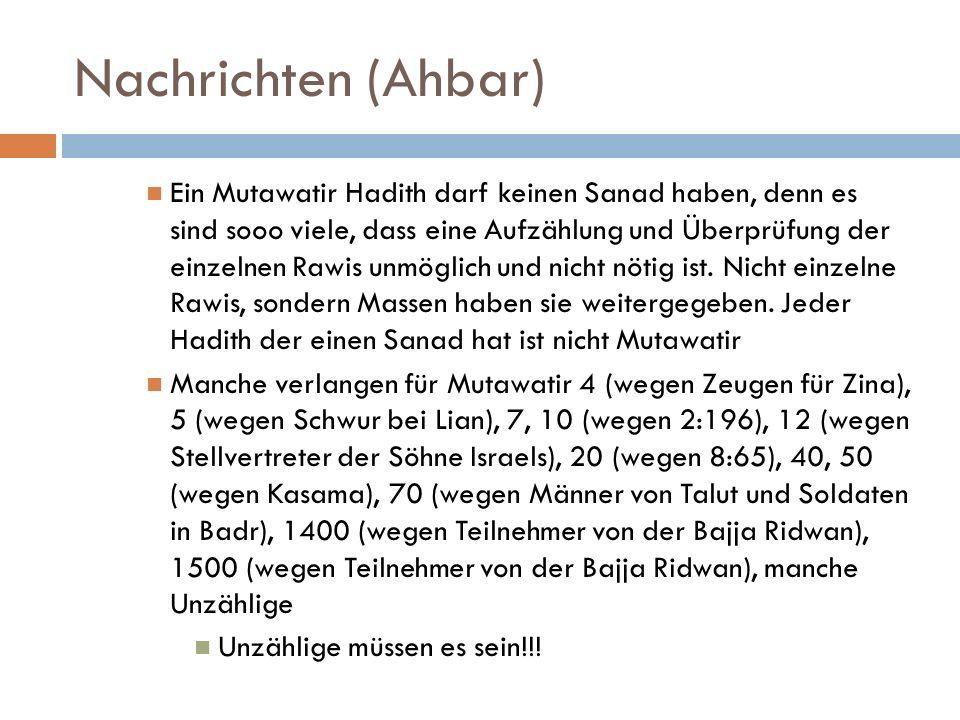 Nachrichten (Ahbar)