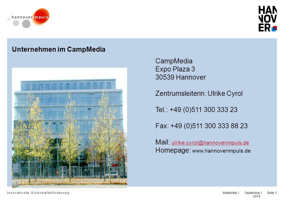 Unternehmen im CampMedia