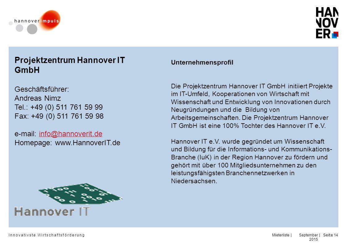 Projektzentrum Hannover IT GmbH