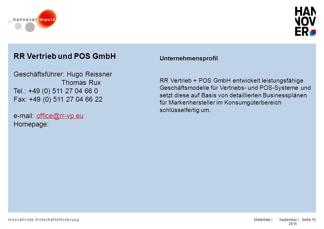 RR Vertrieb und POS GmbH