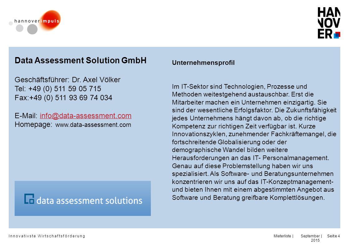 Data Assessment Solution GmbH