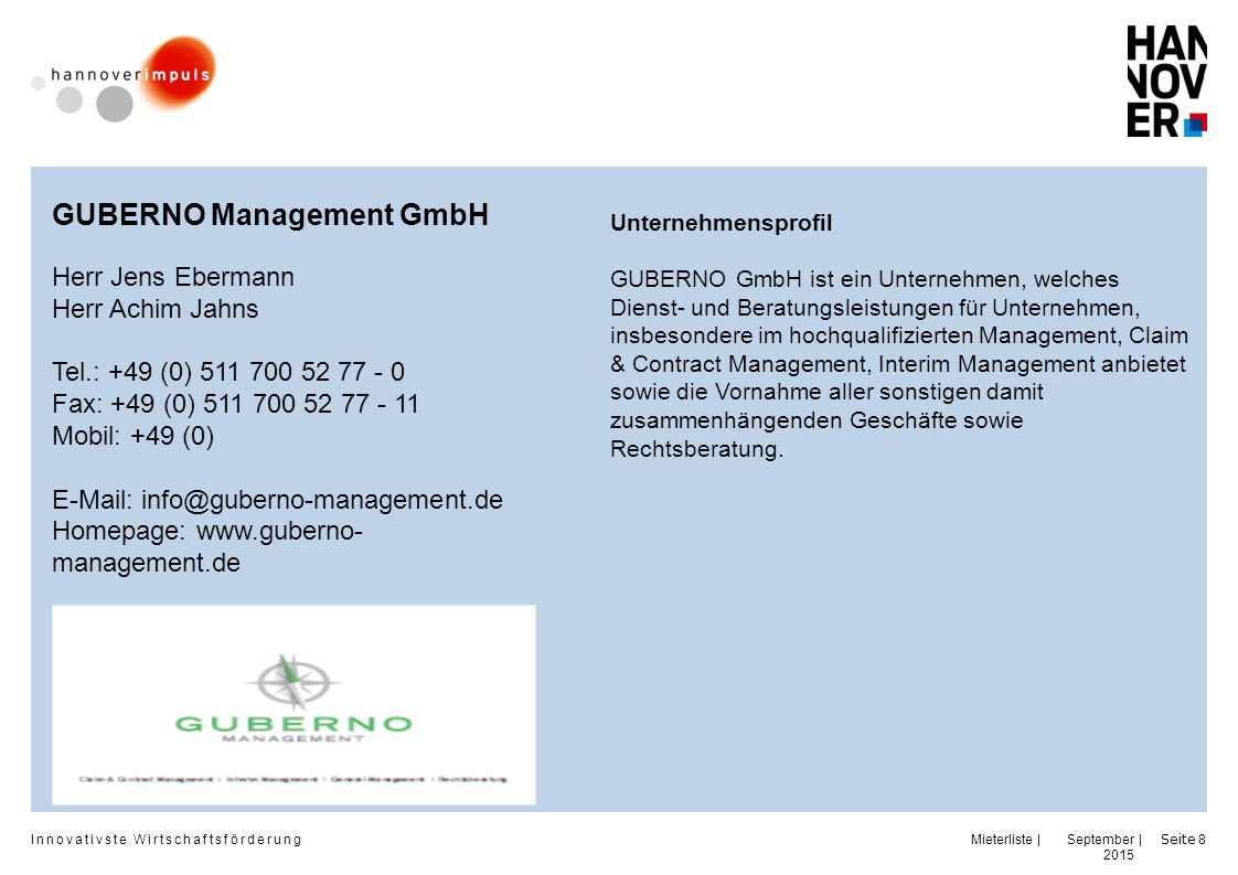 GUBERNO Management GmbH