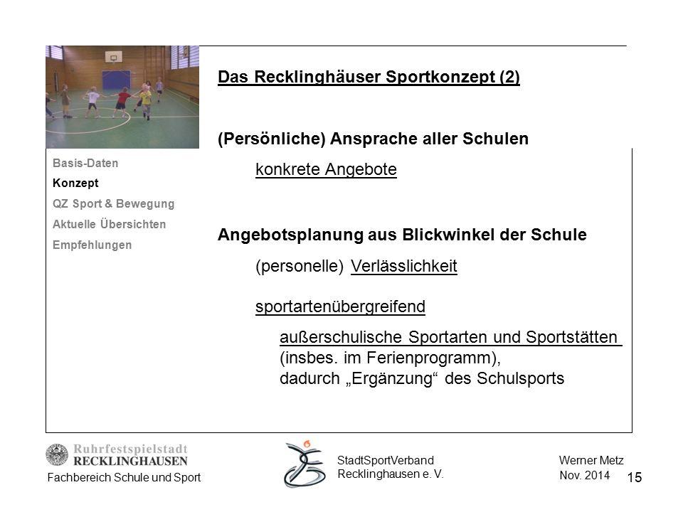 Das Recklinghäuser Sportkonzept (2)