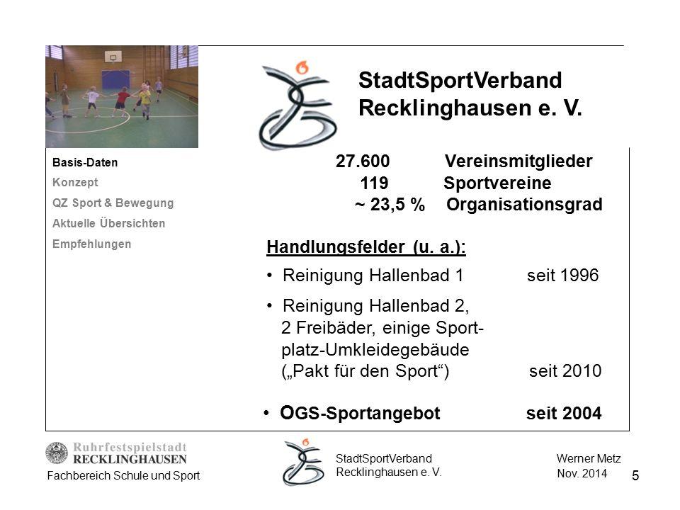 StadtSportVerband Recklinghausen e. V.