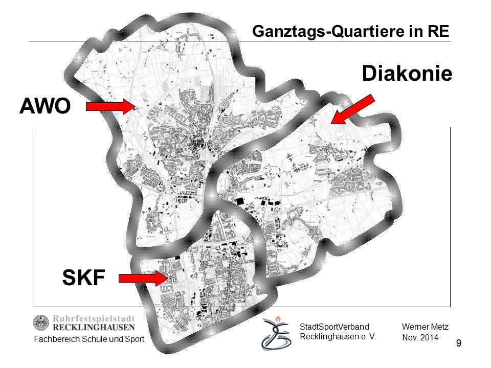 Ganztags-Quartiere in RE
