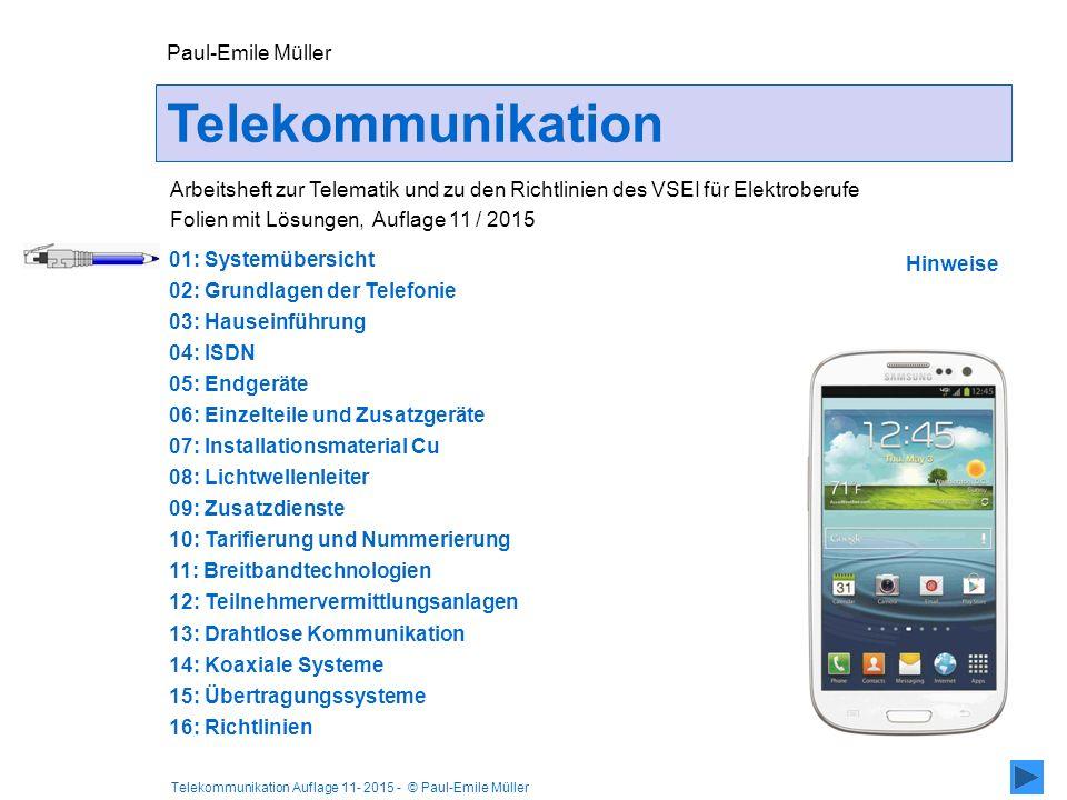 Telekommunikation Paul-Emile Müller