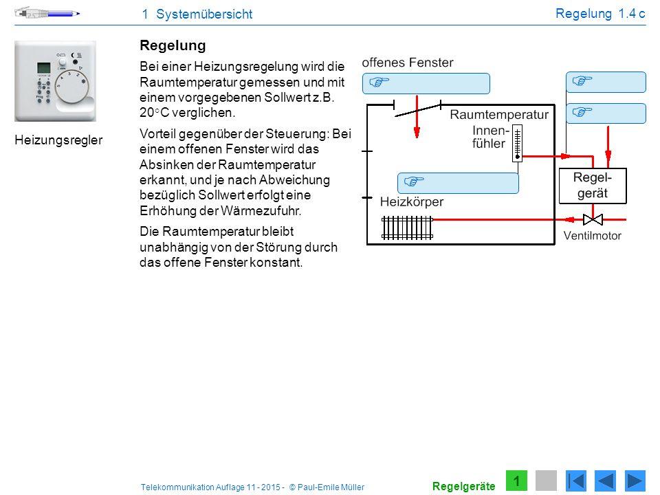     Regelung 1 1 Systemübersicht Regelung 1.4 c