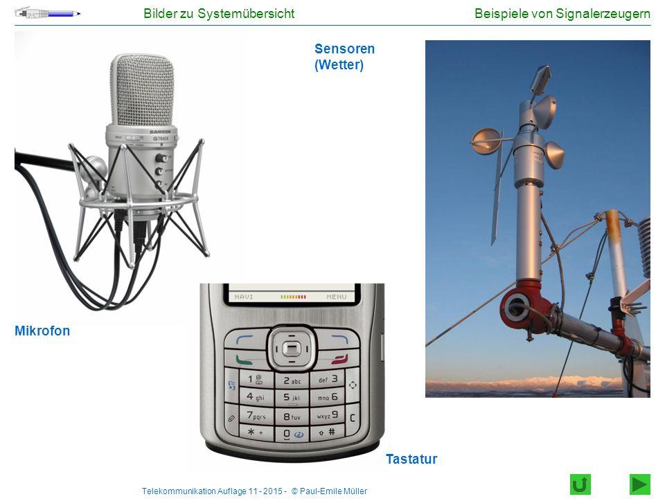 Beispiele von Signalerzeugern