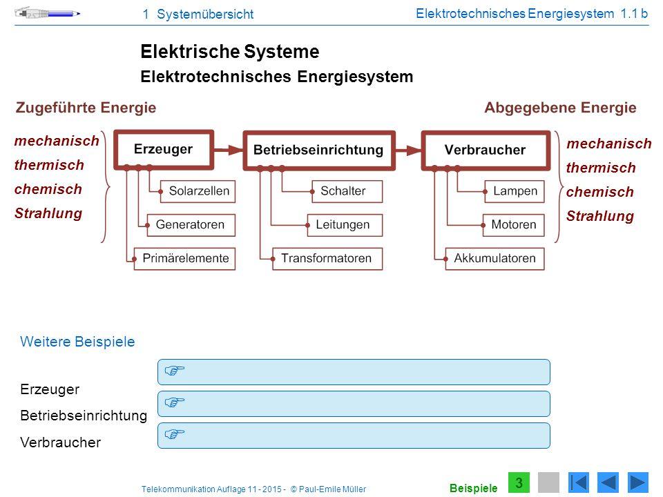 Elektrotechnisches Energiesystem 1.1 b