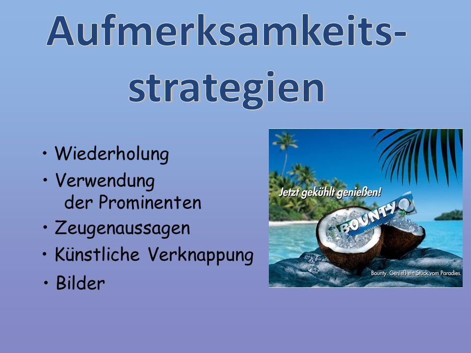 Aufmerksamkeits- strategien