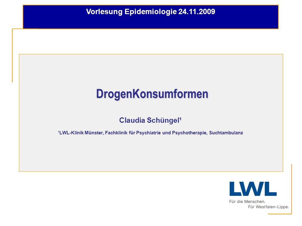 Vorlesung Epidemiologie 24.11.2009