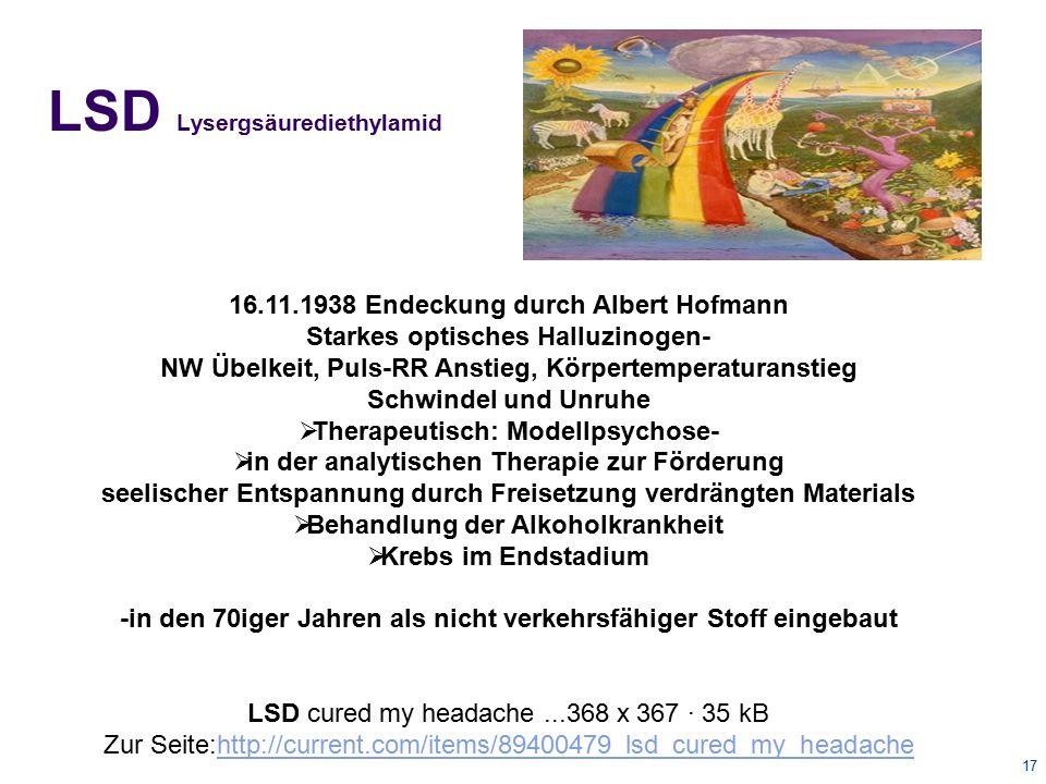 LSD Lysergsäurediethylamid