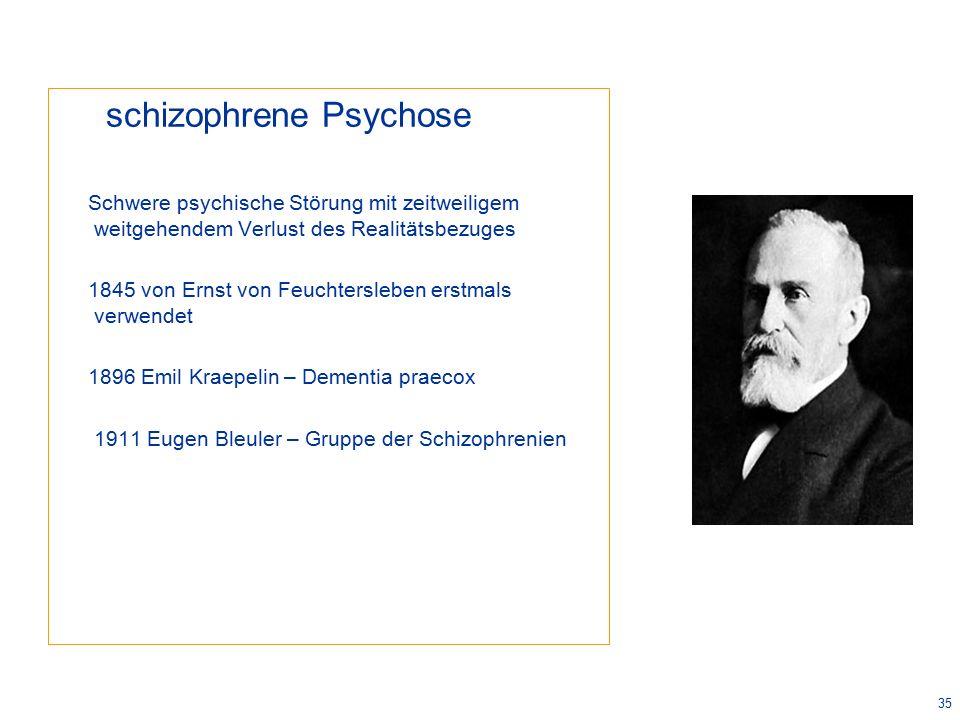 schizophrene Psychose