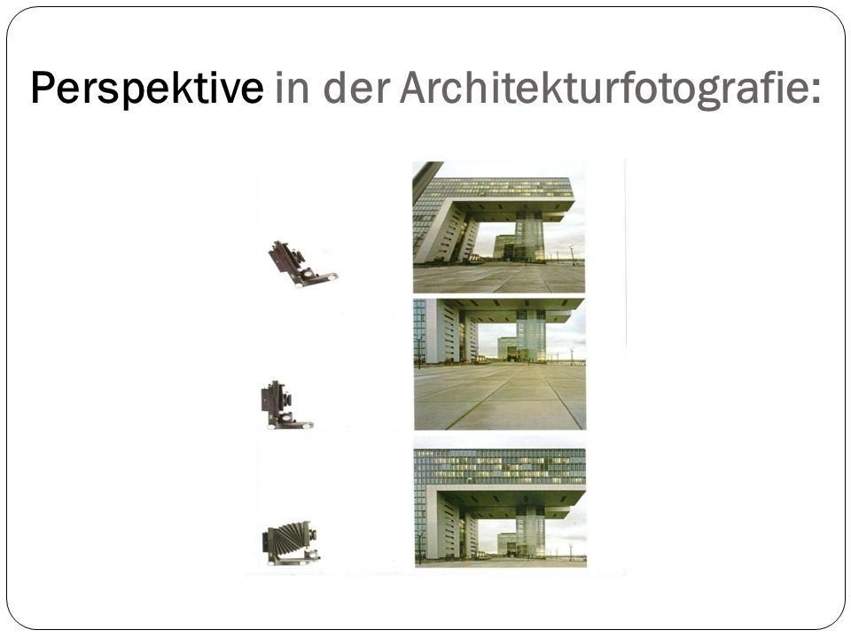 Perspektive in der Architekturfotografie:
