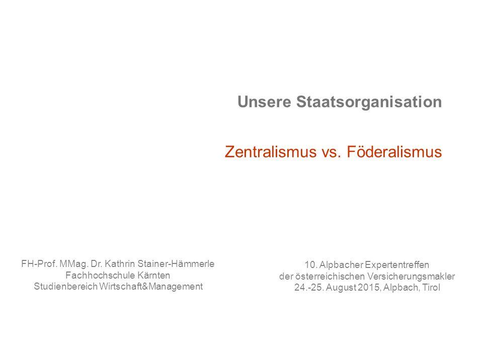 Unsere Staatsorganisation