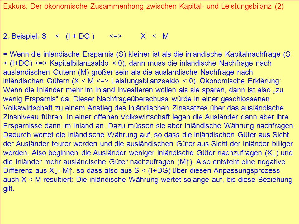 2. Beispiel: S < (I + DG ) <=> X < M