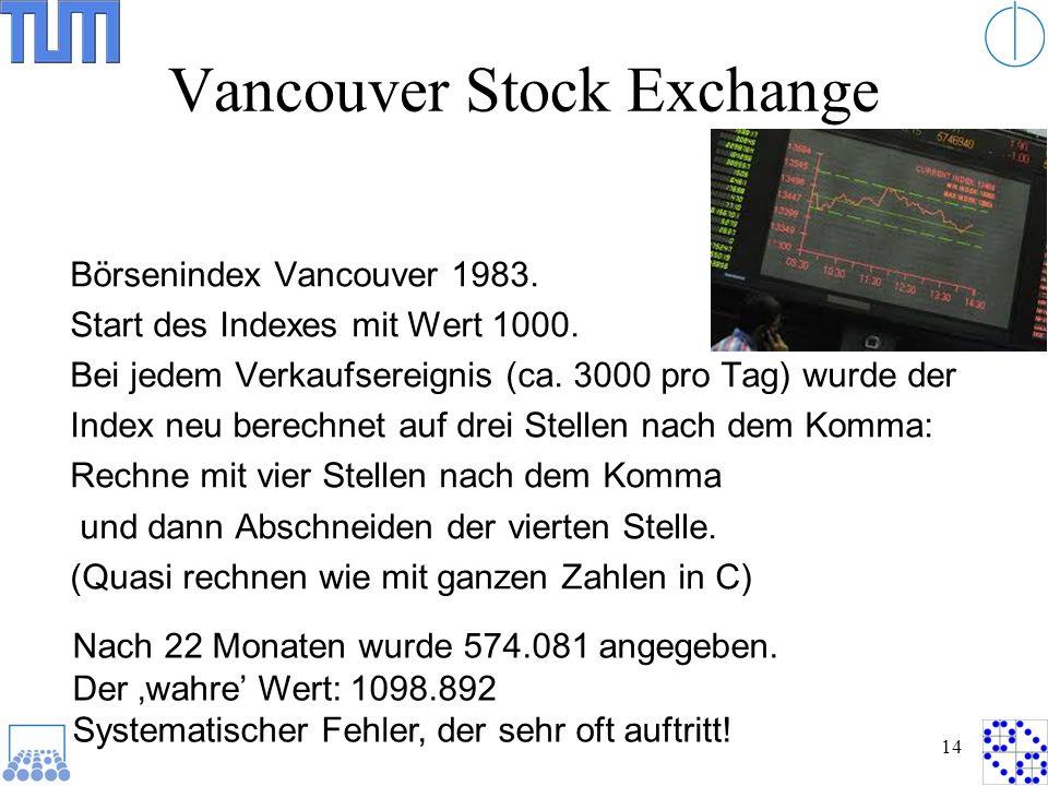Vancouver Stock Exchange