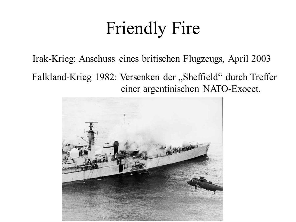 Friendly Fire Irakkrieg: Abschuss eines britischen Flugzeugs, April 2003. Irak-Krieg: Anschuss eines britischen Flugzeugs, April 2003.