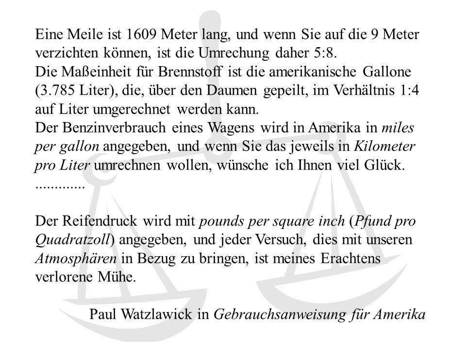 Paul Watzlawick in Gebrauchsanweisung für Amerika