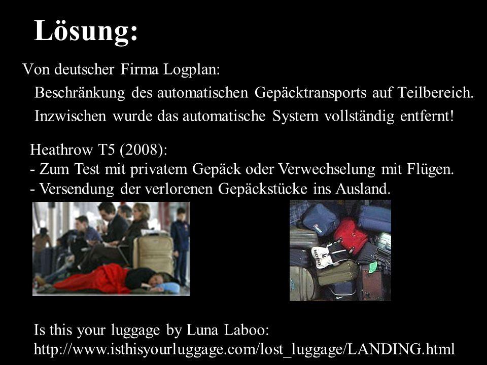 Lösung: Von deutscher Firma Logplan:
