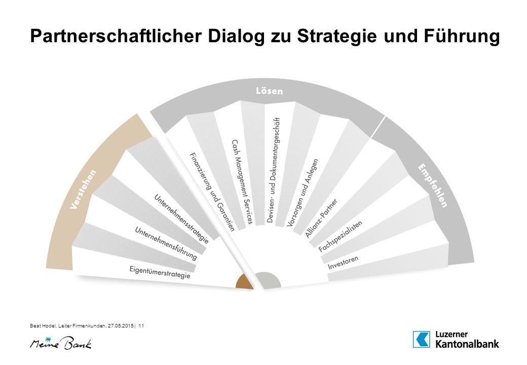 Partnerschaftlicher Dialog zu Strategie und Führung