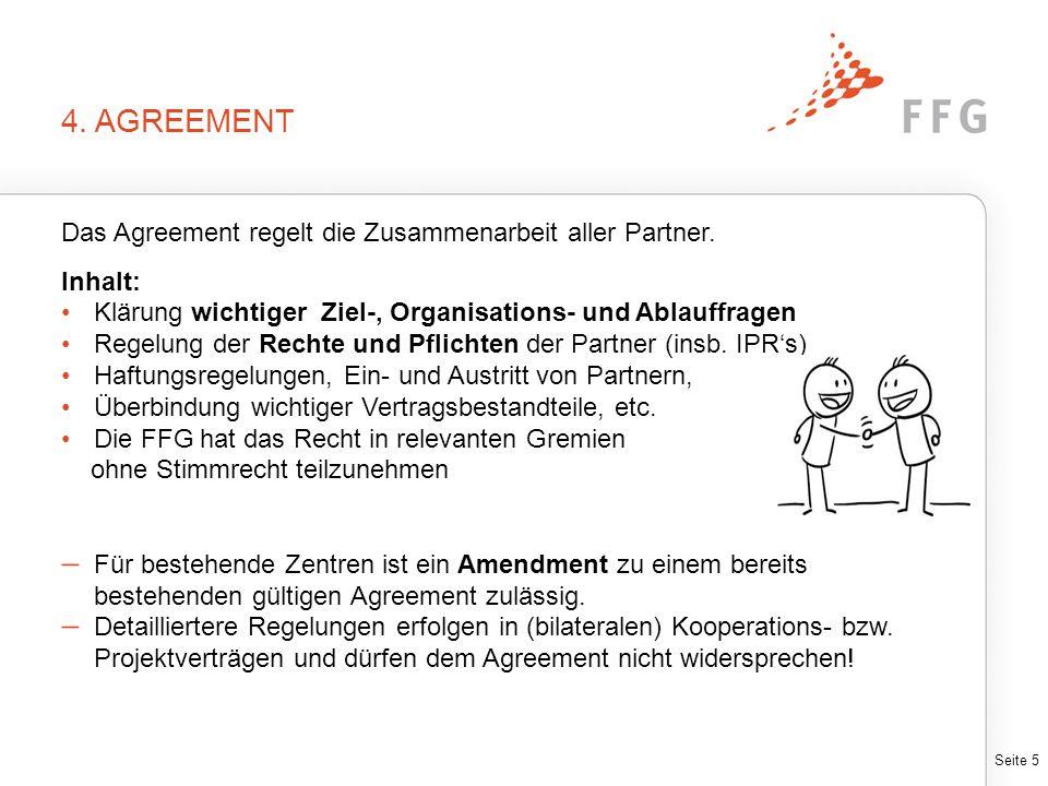 AGREEMENT-LEITFADEN Leitfaden enthält wichtige Regelungsbereiche eines Agreements inklusive der zu überbindenden relevanten Vertragsbestandteile.
